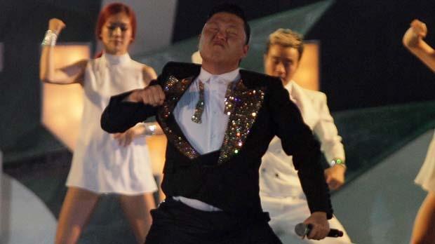 Psy Bangkok Thailand concert Gangnam Style