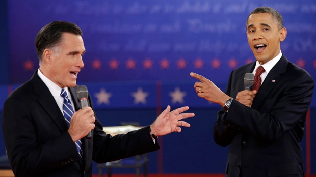 Barack Obama Mitt Romney meet White House