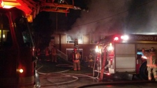 Fatal house fire Charrington Crescent Toronto Jane