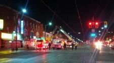 Spadina Avenue Baldwin Street Chinatown fire