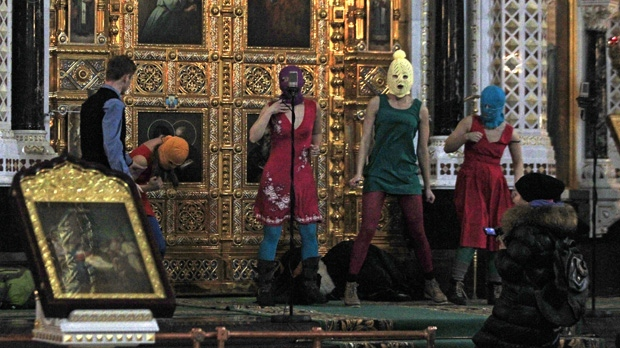 Court bans Pussy Riot church performance