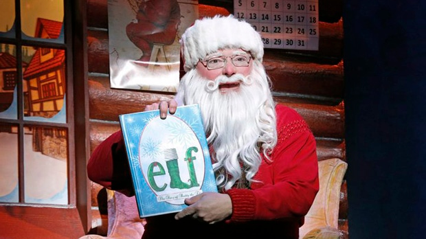 Wayne Knight Elf Santa Claus Broadway Seinfeld