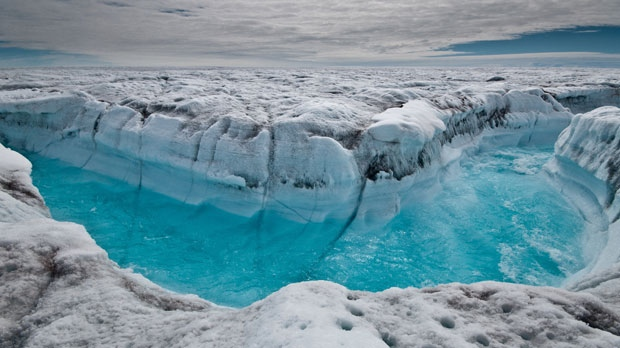 Ice melting Greenland Antarctica