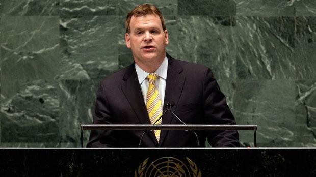 Canada's UN Ambassador John Baird