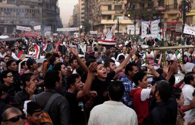 Mass protests against new constitution in Egypt