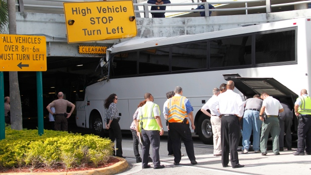 Miami Airport bus crash