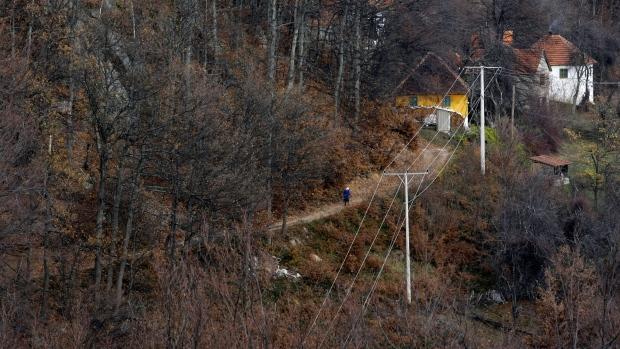 Vampire loose in Serbian village