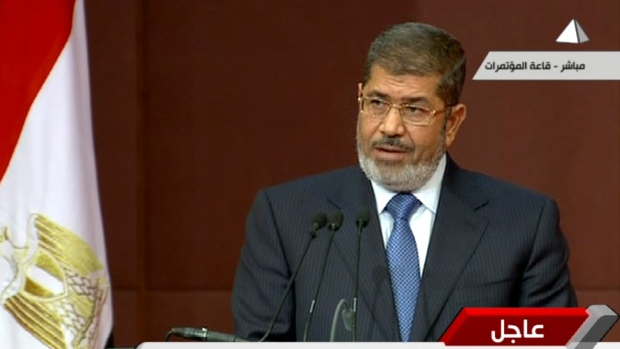 Mohammed Morsi sets date for referendum in Egypt