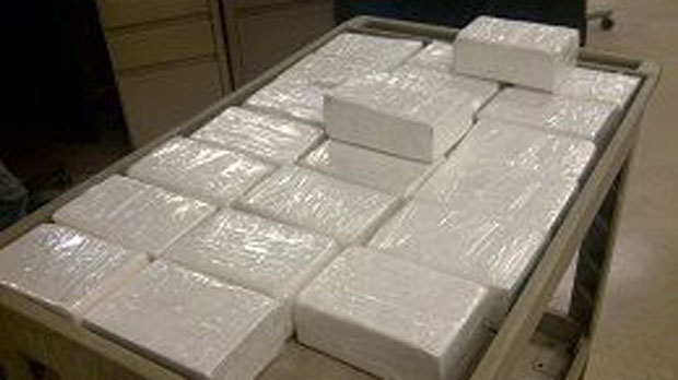 Police seize 25 kg of cocaine