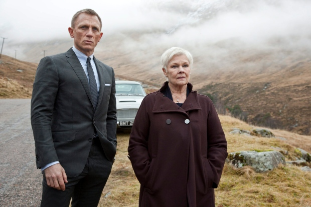 Daniel Crag and Judi Dench in Skyfall