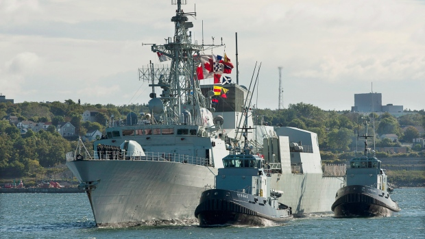 Canadian navy struggles explain missing documents