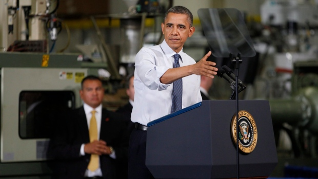 Obama speaks on fiscal cliff