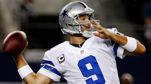 Dallas Cowboys QB Tony Romo TD record
