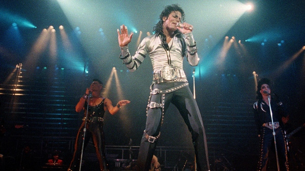 Michael Jackson Bad jacket gloves sold auction