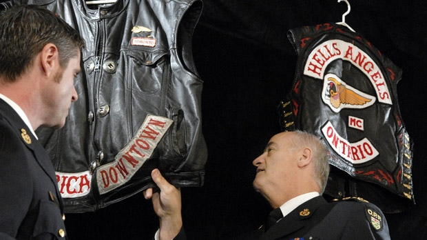 Hells Angels death head insignia court returned