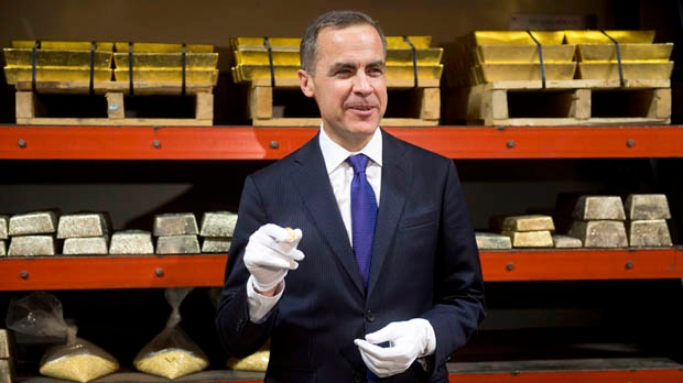 Bank of Canada Mark Carney interest rate economy