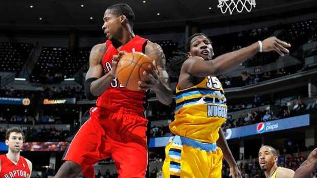 Toronto Raptors Denver Nuggets NBA basketball