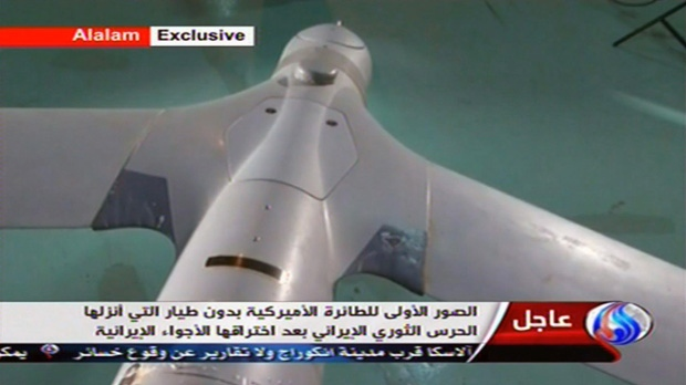 Iran claims it captured U.S. navy drone