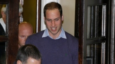 Prince William Kate Middleton pregnant hospital
