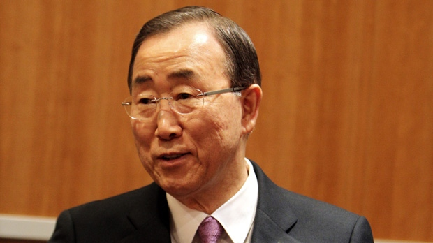 United Nations Ban Ki-moon climate change fix