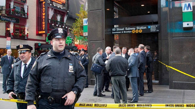 New York City subway death man pushed NY Post