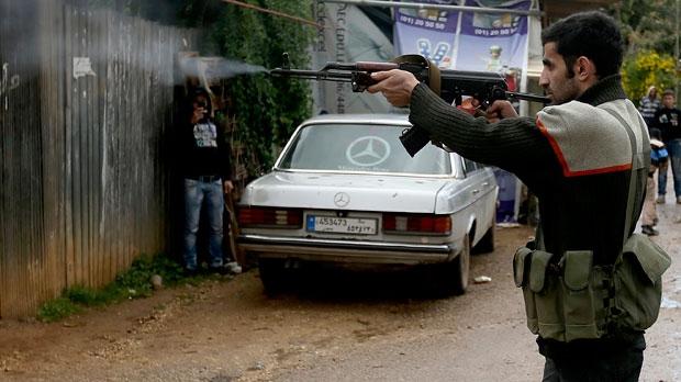 Sunni gunman