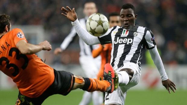 FC Juventus' Kwadwo Asamoah