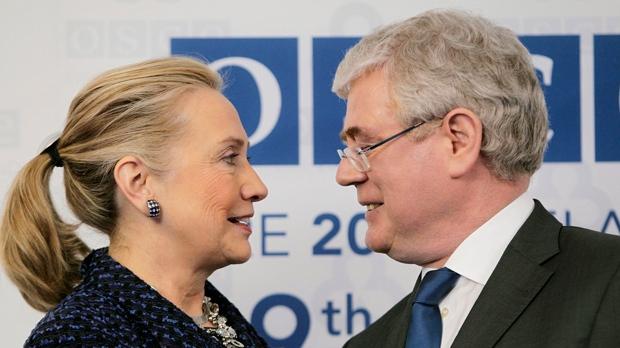 Hillary Rodham Clinton re-sovietize Russia Ireland