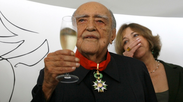 Architect Oscar Niemeyer Brazil death obituary
