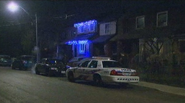 A man was stabbed during an attempted robbery on Chambers Avenue early Thursday, Dec. 6, 2012.