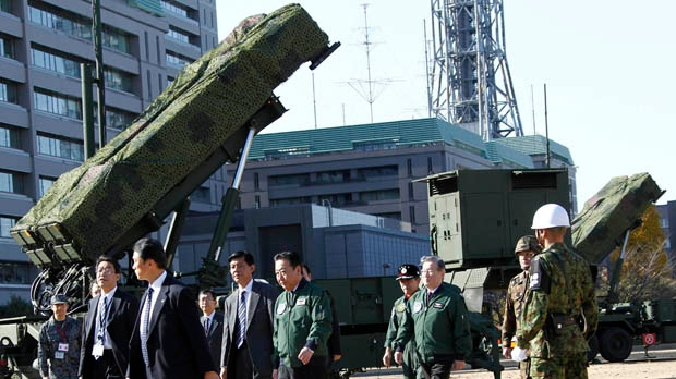 Japan interceptors North Korea rocket launch