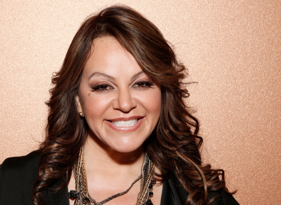 Jenni Rivera attends a press conference on Friday, Aug. 24, 2012, in Woodland Hills, California. (AP/ Todd Williamson)