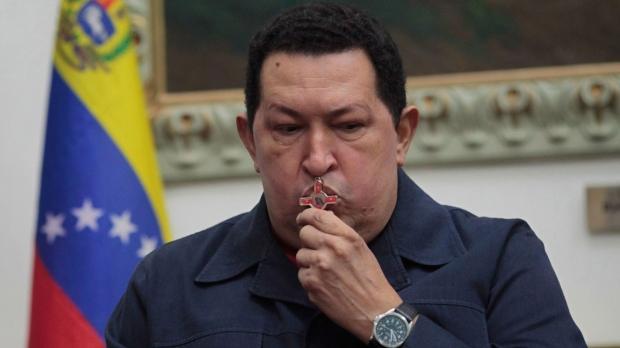 Hugo Chavez cancer complicated