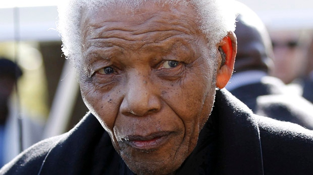 Nelson Mandela South Africa lung infection