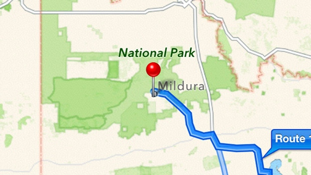 Bad Apple Maps directions Australia remote park