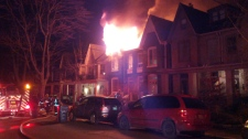 Follis Avenue house fire Bathurst Bloor Toronto