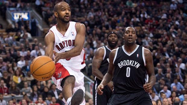 Toronto Raptors guard John Lucas lll