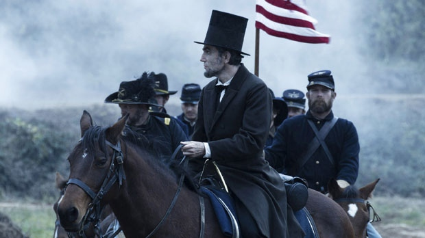 Daniel Day Lewis Lincoln Golden Globe nominations