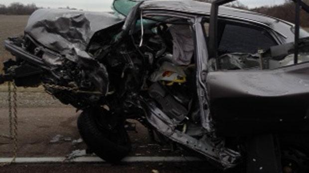 fatal head-on collision on Highway 404
