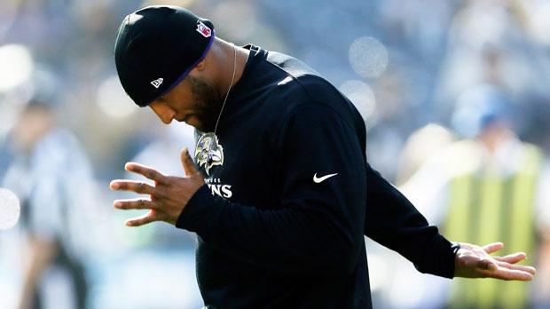Baltimore Ravens' Ray Lewis