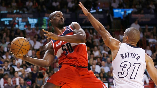 Washington Wizards' Emeka Okafor