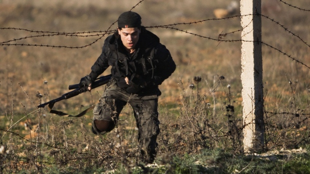 Syrian islamist rebels take Aleppo base
