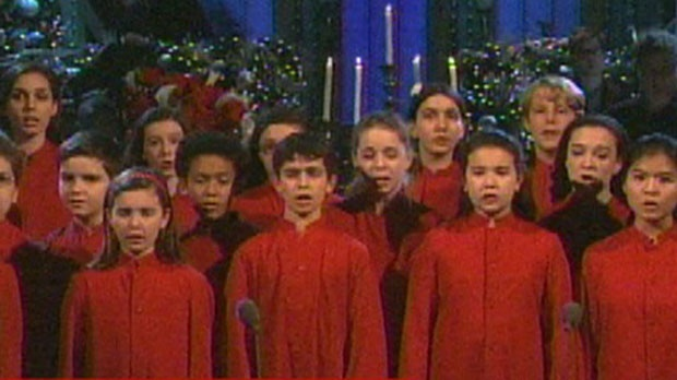 SNL children's choir Newtown shooting