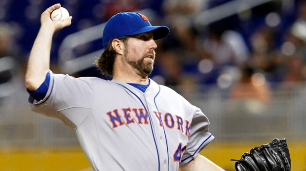 Toronto Blue Jays New York Mets R.A. Dickey trade