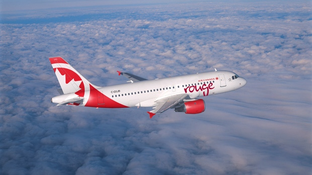 Air Canada's low-cost carrier, Rouge, will begin flying July 1, 2013. (Photo courtesy of Air Canada)