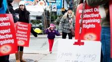 Halton Bluewater Algoma elementary teachers strike