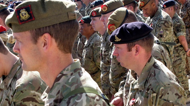 Britain to pull some 3,800 troops from Afghanistan