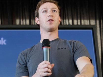 Facebook CEO Mark Zuckerberg talks about the new Facebook messaging service at an announcement in San Francisco, Monday, Nov. 15, 2010.(AP / Paul Sakuma)