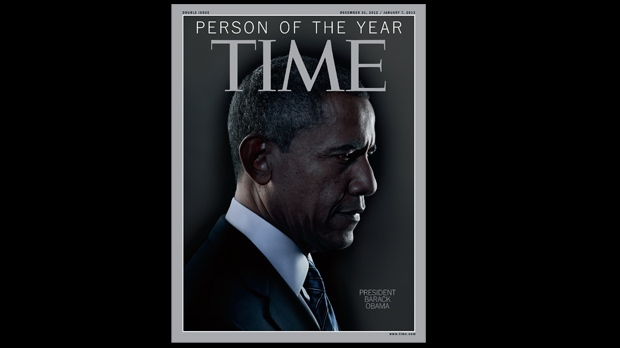Barack Obama Time person of the year 2012