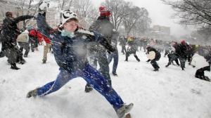 Toronto Ontario Wisconsin winter storm snow